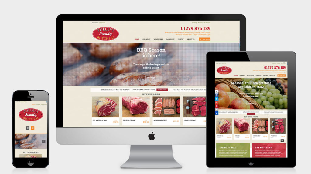 Creative Sprout : Portfolio - Fullers Family Butchers