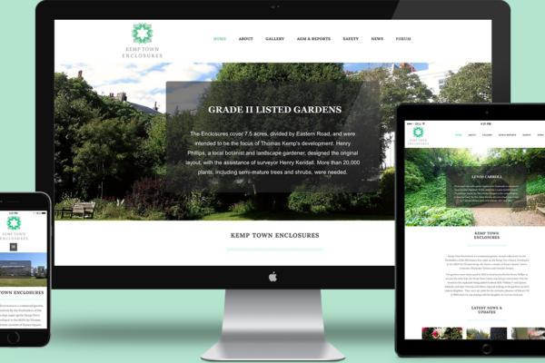 Kemp Town Enclosures Website