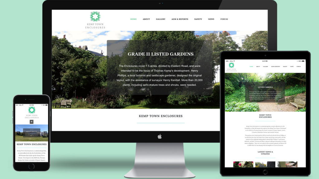 Kemp Town Enclosures - Website Design & WordPress Development