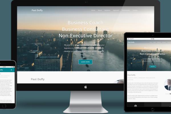 Paul Duffy Business Coach Website