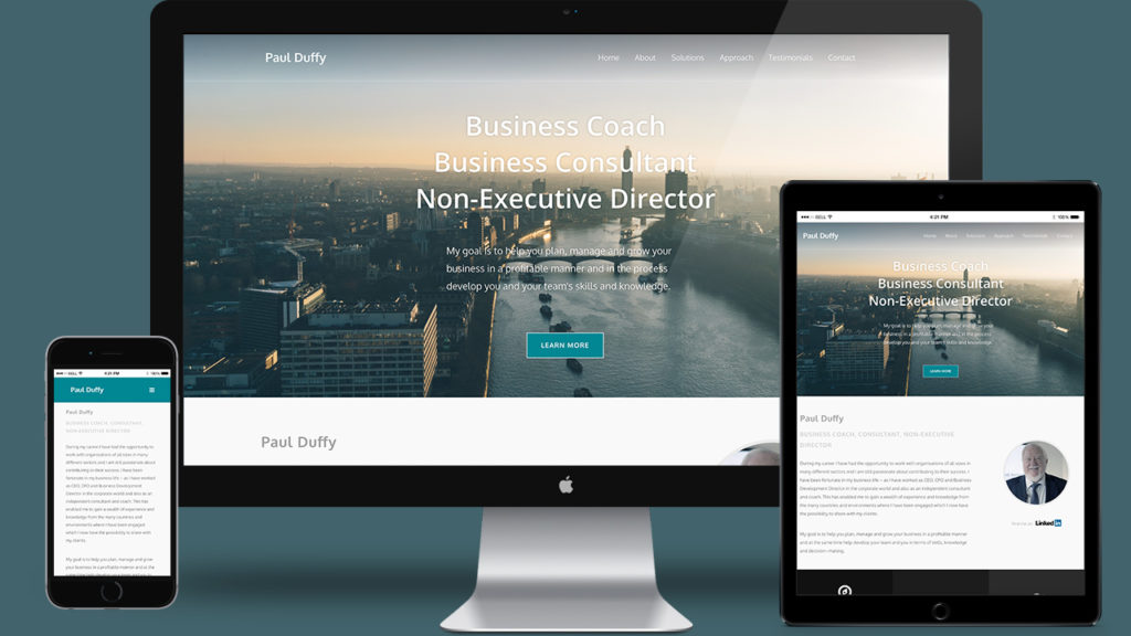 Paul Duffy - Website Design & WordPress Development