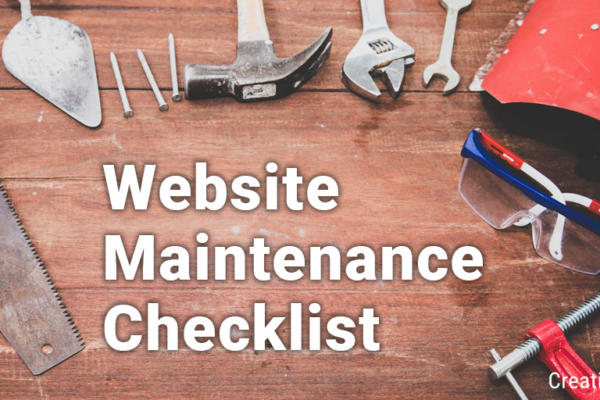 Website Maintenance Checklist