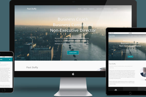 Paul Duffy Business Coach Website